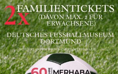 Gewinnspiel: 2x Familientickets für das Deutsche Fußballmuseum zu gewinnen.